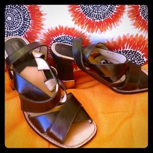 Nice heels block sandal from Michael Kors
